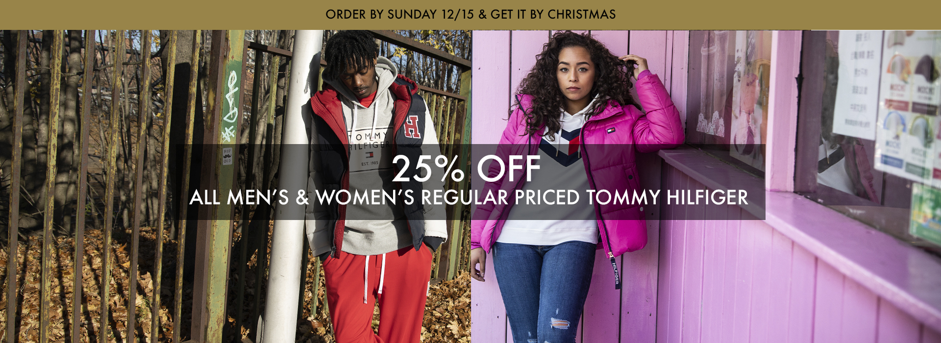 25% OFF REGULAR PRICED TOMMY