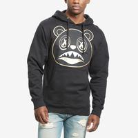 Baws Men's Blackout Gold Hoodie