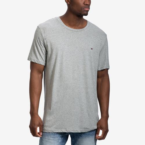 Front View of Tommy Hilfiger Men's Core Flag Crew Neck Tee