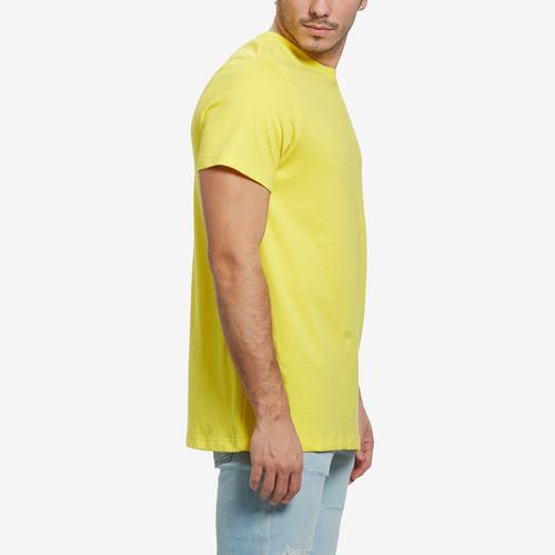 Left Side View of Tommy Hilfiger Men's Core Flag Crew Neck Tee