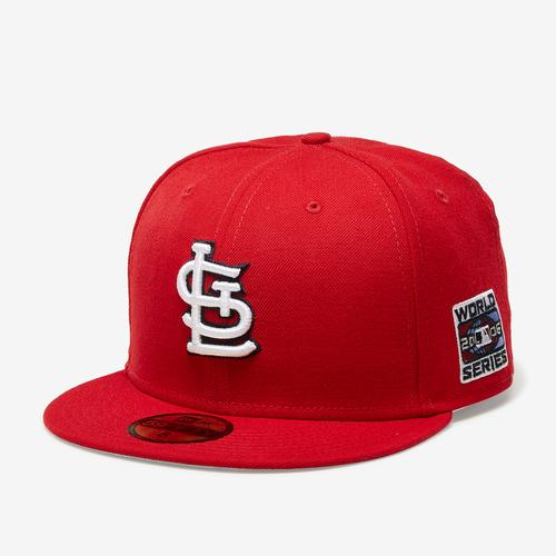 Front Right View of New Era Cardinals 59Fifty Fitted