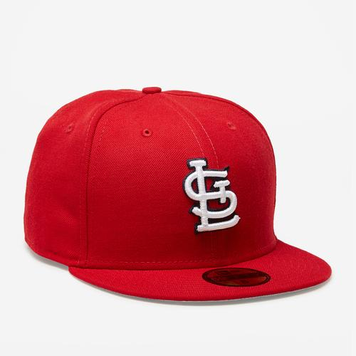 Front Left view of New Era Cardinals 59Fifty Fitted