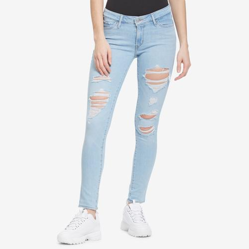Front View of Levis Women's 711 Skinny Jeans