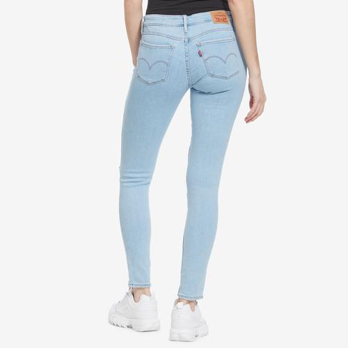 Back View of Levis Women's 711 Skinny Jeans