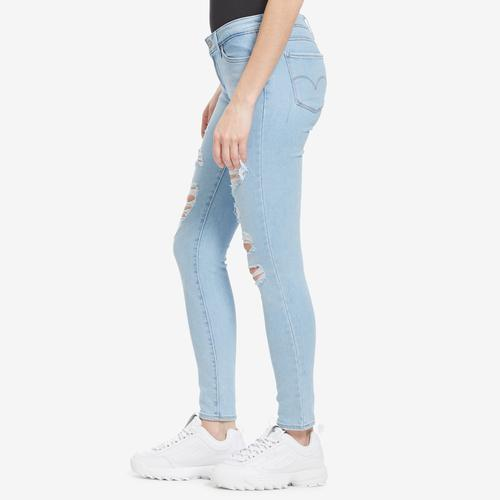 Right Side View of Levis Women's 711 Skinny Jeans