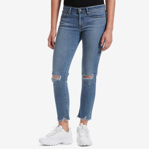Front View of Levis Women's 711 Skinny Ankle Jeans