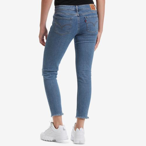 Back View of Levis Women's 711 Skinny Ankle Jeans