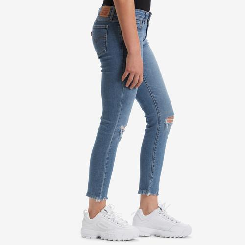 Right Side View of Levis Women's 711 Skinny Ankle Jeans
