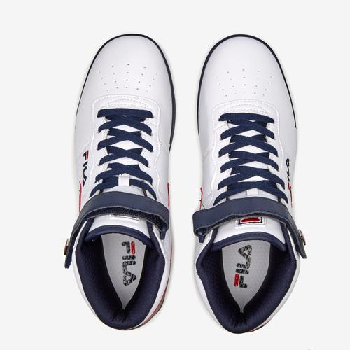 Bottom View of FILA Men's Vulc 13 Mid-Top Sneakers