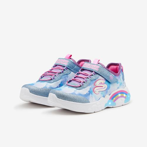 Skechers Girl's Preschool Rainbow Racer Shoes
