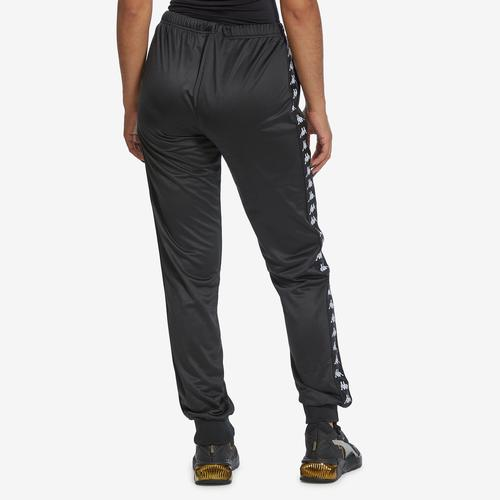 Second view of Women's 222 Banda Wrastoria Slim Track Pants by Kappa