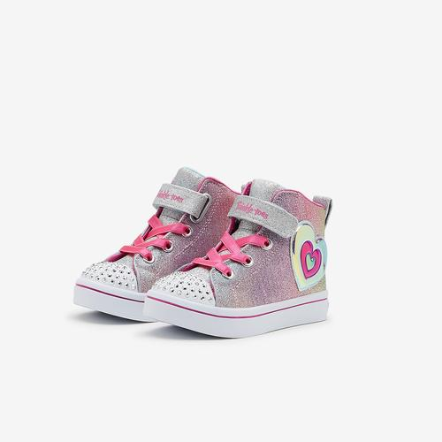 Skechers Girl's Toddler Twinkle Toes: Twi-Lites - Lil Starry Gem