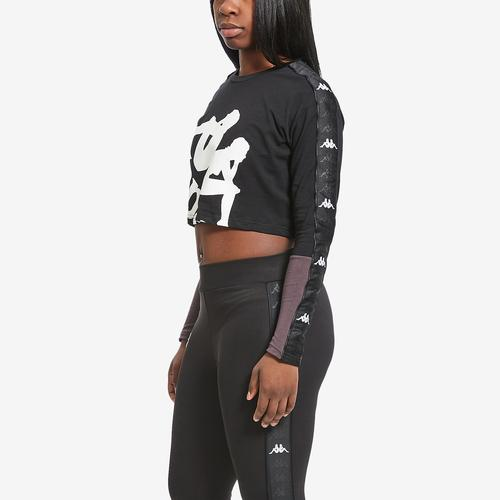 Third view of Women's 222 Banda Baloys Crop Top by Kappa