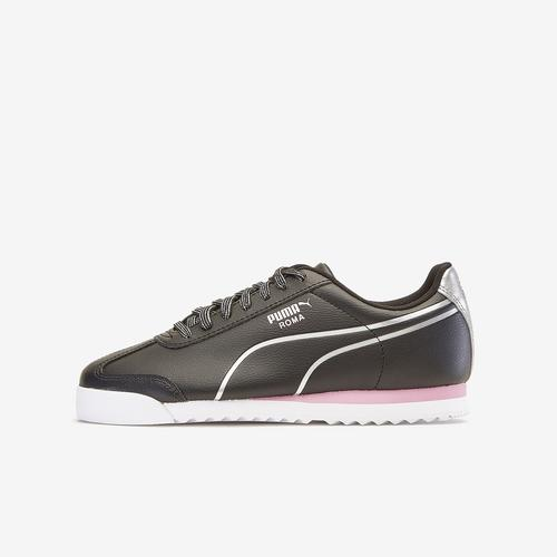 First view of Girl's Grade School Roma Shine Shoes by Puma