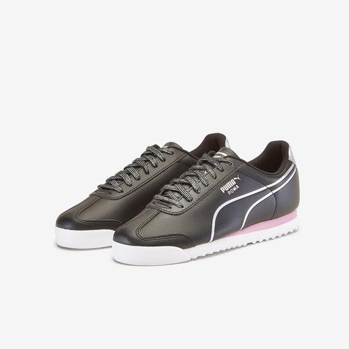 Second view of Girl's Grade School Roma Shine Shoes by Puma