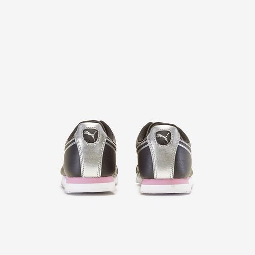 Third view of Girl's Grade School Roma Shine Shoes by Puma