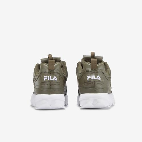 Back View of FILA Women's Disruptor 2 3D Embroidery Sneakers