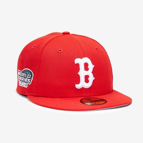 Second view of Boston Red Sox Basic 59FIFTY Fitted Cap by New Era
