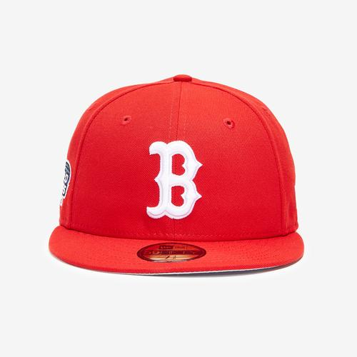 Third view of Boston Red Sox Basic 59FIFTY Fitted Cap by New Era