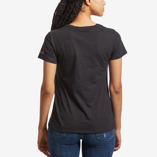 Back View of Levis Women's EBL 70 Batwing Tee