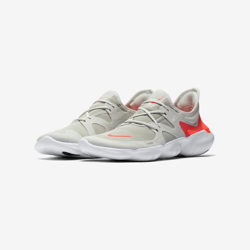 Side Angle View of Nike Men's Free RN 5.0 Sneakers