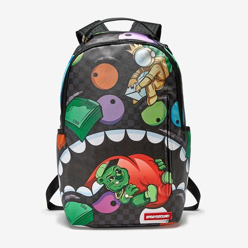 Front View of Sprayground Mad Shark Backpack