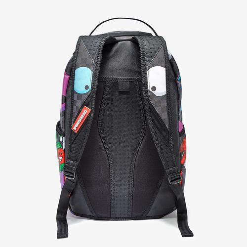 Back View of Sprayground Mad Shark Backpack