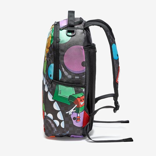 Front Left view of Sprayground Mad Shark Backpack