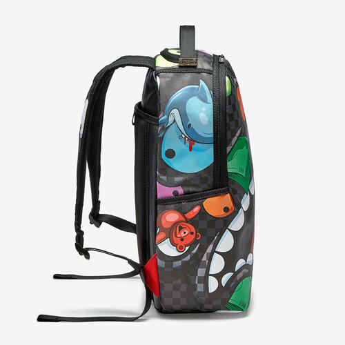 Right view of Sprayground Mad Shark Backpack