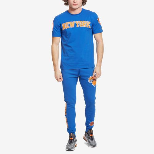Fifth view of Men's New York Knicks Jogger by Pro Standard