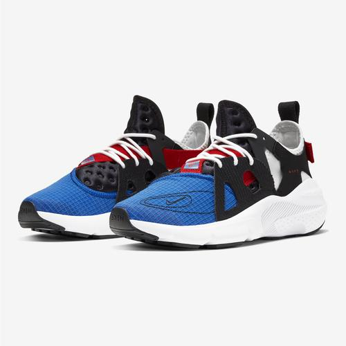 Side Angle View of Nike Men's Huarache Type Sneakers