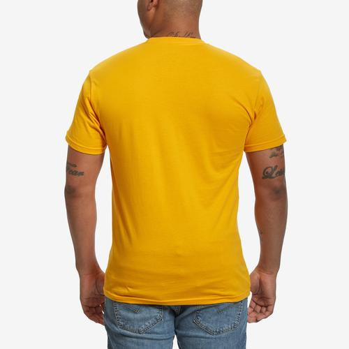 Back View of Baws Men's Cinnamon Baws T-Shirt