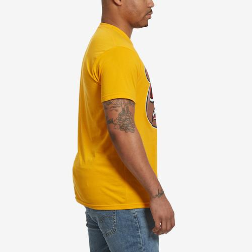Left Side View of Baws Men's Cinnamon Baws T-Shirt