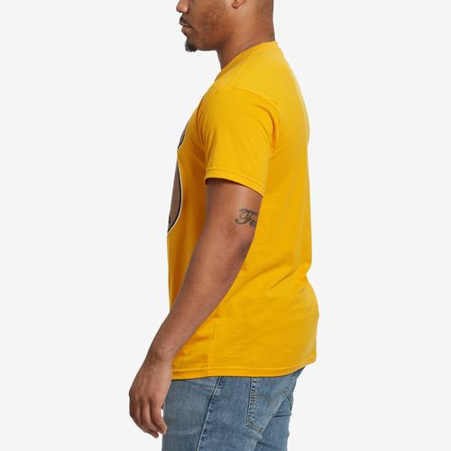 Right Side View of Baws Men's Cinnamon Baws T-Shirt
