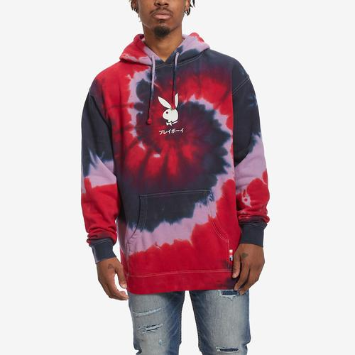 First view of Men's Tie Dye Tokyo Rabbit Hoodie by COLOR BARS