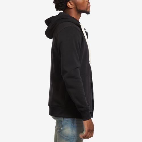 Right Side View of EBL by PJ Mark Men's Full Zip Fleece Hoodie