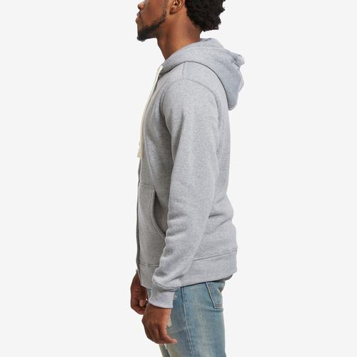 Left Side View of EBL by PJ Mark Men's Full Zip Fleece Hoodie