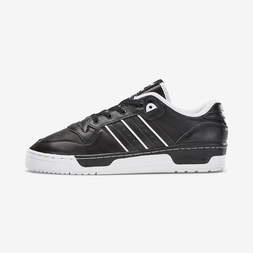 Left Side View of adidas Men's Rivalry Low Sneakers