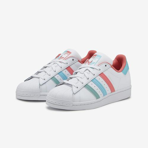 adidas Girl's Grade School Superstar Shoes