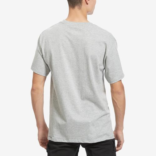 Back View of Champion Men's Graphic Jersey Tee, Script Logo