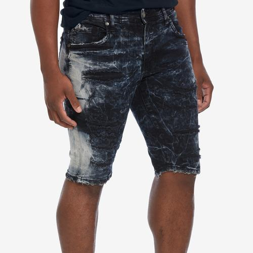 First view of Men's Distressed Denim Shorts by Jordan Craig