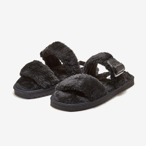 STEVE MADDEN Women's Buckle Slide