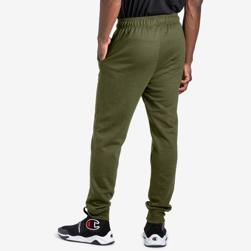 Back View of Champion Men's Powerblend Sweats Retro Jogger Pants