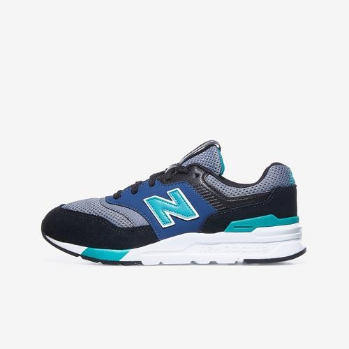 Left Side View of New Balance Boy's Preschool 997H Sneakers