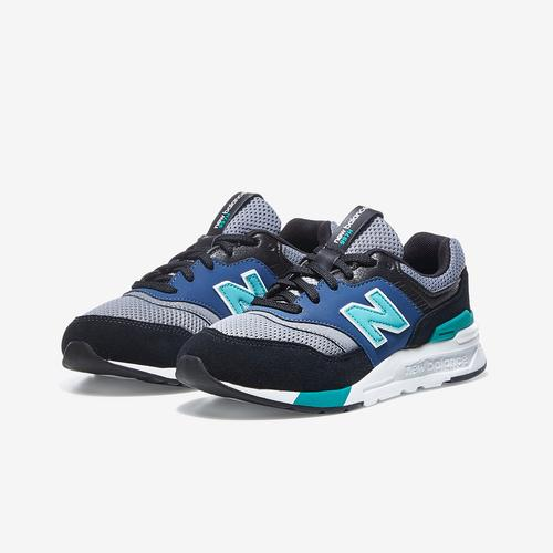 Side Angle View of New Balance Boy's Preschool 997H Sneakers