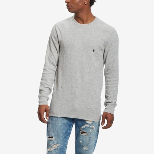 First view of Men's Waffle-Knit Crew Neck Thermal by Polo Ralph Lauren