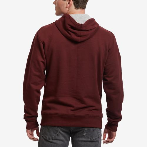 Back View of Champion Men's Powerblend Sweats Pullover Hoodie
