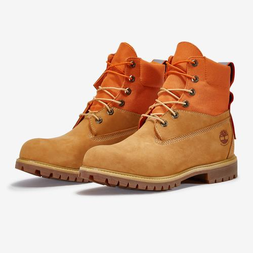 Timberland Men's 6-Inch Premium Mixed-Media Waterproof Boots