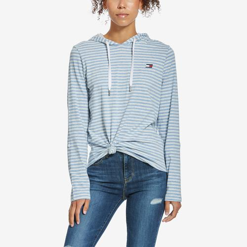 Fifth view of Women's Knot Front Top by Tommy Hilfiger