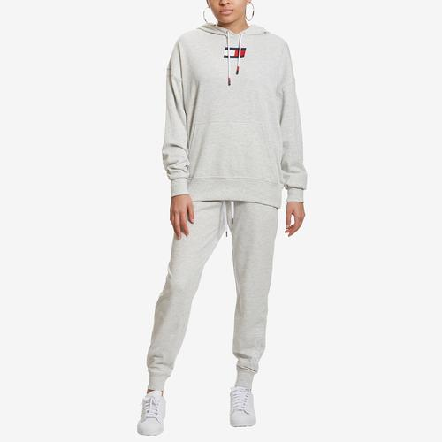 Fifth view of Women's Ribbed Cuff Jogger by Tommy Hilfiger